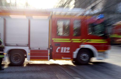 Hohe Rauchsäule löst Feuerwehreinsatz aus