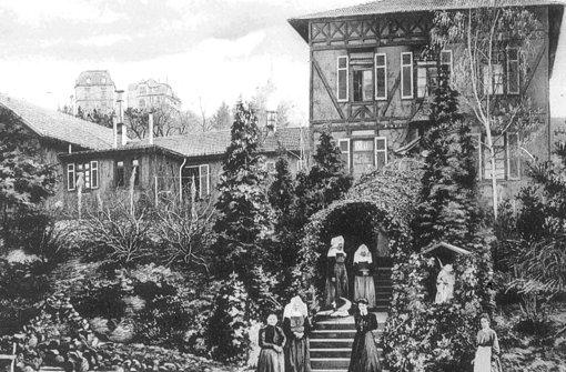 Der erste Erweiterungsbau des Marienhospitals St. Josephs im Jahr 1904. Foto: Marienhospital