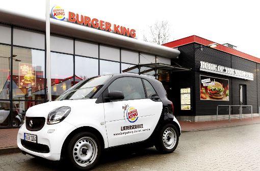 Burger King kooperiert mit Lieferando