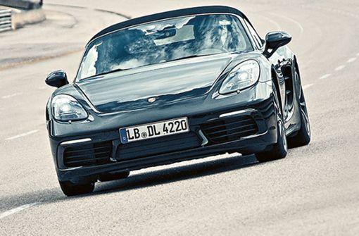 Der Porsche Boxster und der Cayman haben im Mängelreport am besten abgeschnitten. Foto: Porsche