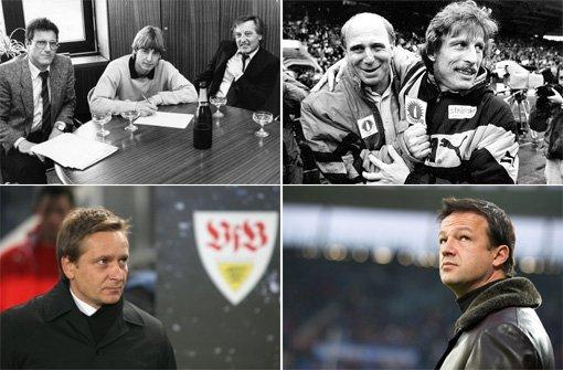 Von Schäfer bis Bobic - die VfB-Manager