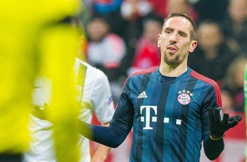 Ribéry fällt nach OP am Hintern aus