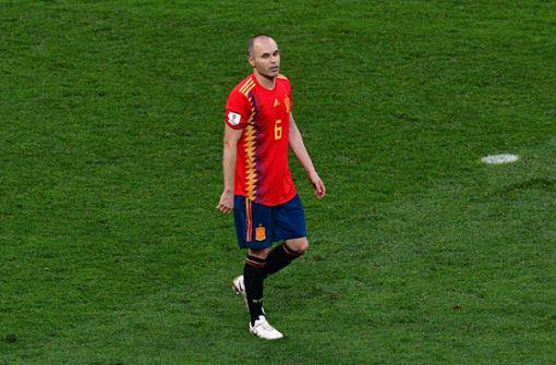 Andres Iniesta bedankt sich für Zeit im Nationalteam
