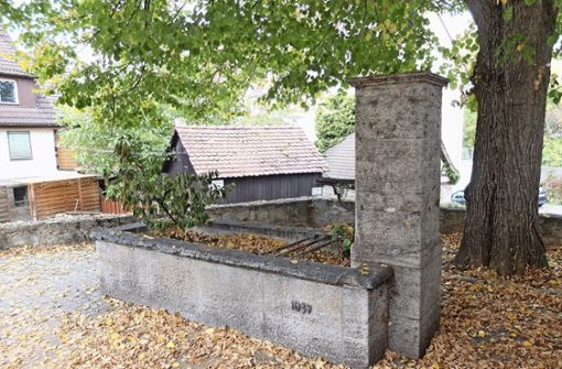 Brunnen soll zum Ortsjubiläum sprudeln