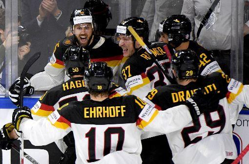 Deutsches Team feiert Einzug ins Viertelfinale