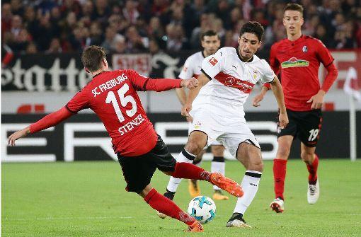 Lieferte in der Partie gegen den SC Freiburg zwei Vorlagen für Tore: Berkay Özcan. Foto: Pressefoto Baumann