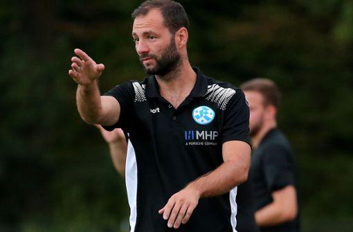 Trainer Tobias Flitsch hat die Qual der Wahl