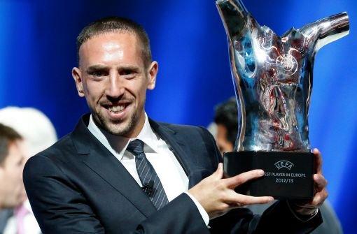 Ribéry unter den drei Finalisten
