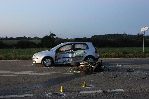 Motorradfahrer verunglückt tödlich
