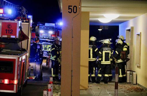 Fünf Verletzte bei Hochhausbrand