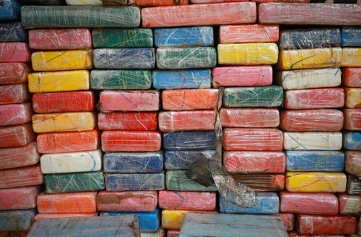 Eine Rekordmenge von zwei Tonnen Kokain kann die Polizei in Belgien beschlagnahmen (Symbolbild). Foto: dpa
