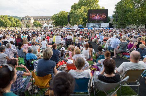 Zehntausende feiern den Sommer in Stuttgart
