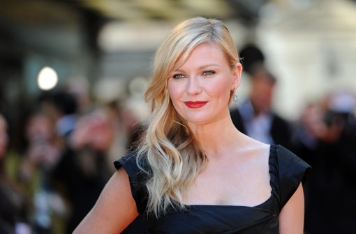 Kirsten Dunst strahlt auf dem roten Teppich bei der Premiere von Two Faces of January in London. Foto: Getty Images Europe