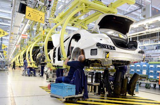 Daimler muss Produktion in Sindelfingen drosseln