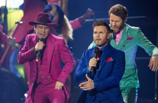 Take That startet Deutschland-Tour