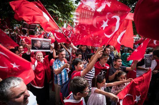 Erdogan im Land beliebter als in der Türkei