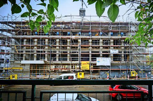 Fassade von John-Cranko-Schule wird fertig