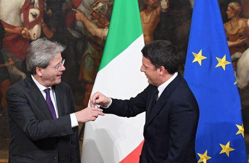 Herr Renzi träumt