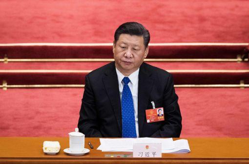 Ähnlichkeiten mit Pu, dem Bären? In China darf darüber nicht gelacht werden. Foto: AFP