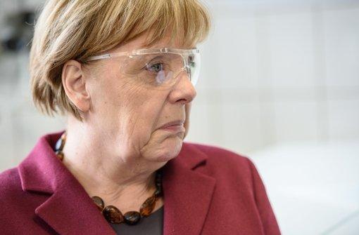 Merkel wünscht Abwechslung beim Essen