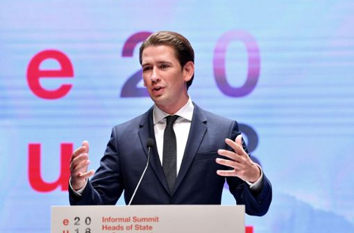 Sebastian Kurz kritisiert Warnung vor bestimmten Medien