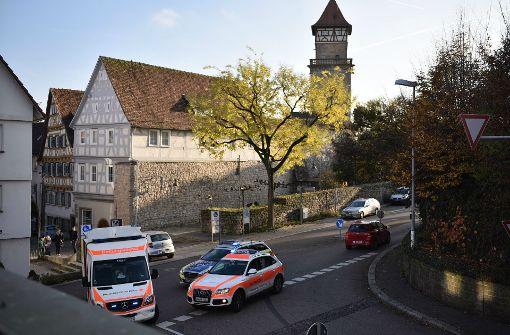 Am Rand der Waiblinger Altstadt hat sich am Dienstag ein Unfall ereignet. Foto: StZ/Weingand