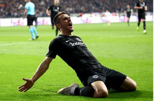 Ex-VfB-Spieler Kostic schießt Frankfurt zum Sieg
