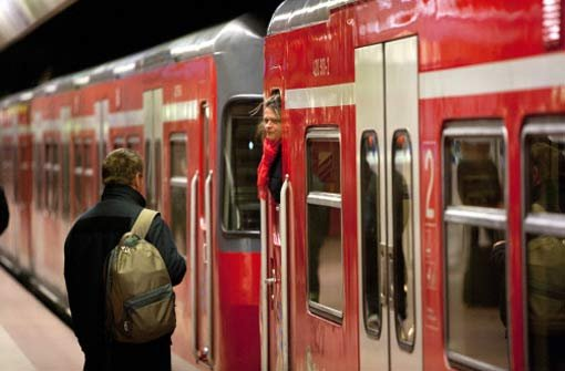 S-Bahnen bis Betriebsschluss nur im 30-Minuten-Takt