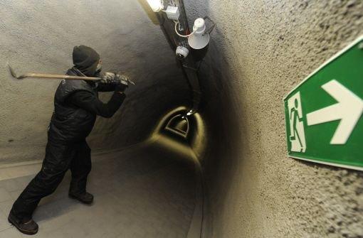 Randalierer im Tunnel offenbar ermittelt