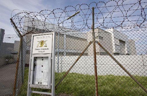 Der 29-Jährige ist im hochgesicherten Trakt neben dem Gefängnis in Stuttgart-Stammheim verurteilt worden. Foto: Michael Steinert