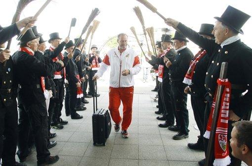 VfB-Trainer Stevens hat alle Mann an Bord