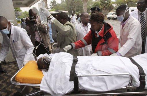 Opferzahl in Kenia weiter ungewiss
