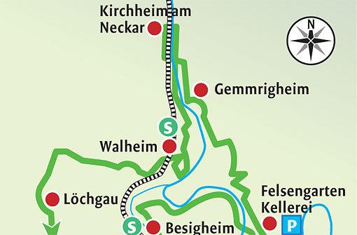 Zu Neckar, Metter und Enz