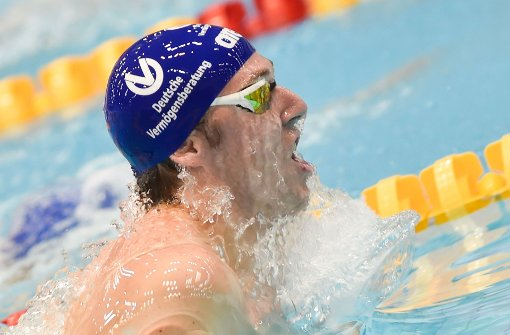 Koch schwimmt Weltrekord