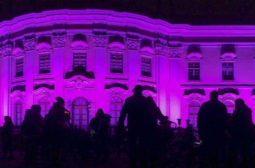 Im November gab es einen Laternenumzug am Schloss. Foto: factum/Granville