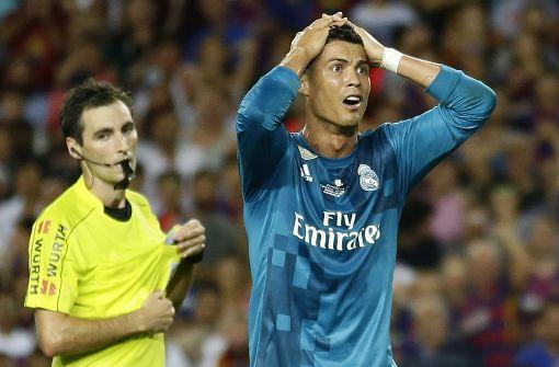 Ronaldo bleibt für fünf Spiele gesperrt