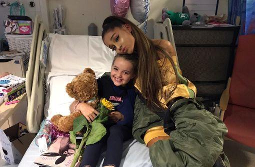 Terroranschlag Twitter: Nach Dem Anschlag Von Manchester: Ariana Grande Besucht