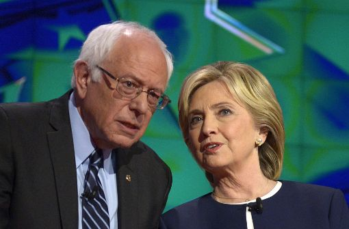 Hillary Clinton gibt Bernie Sanders Teilschuld