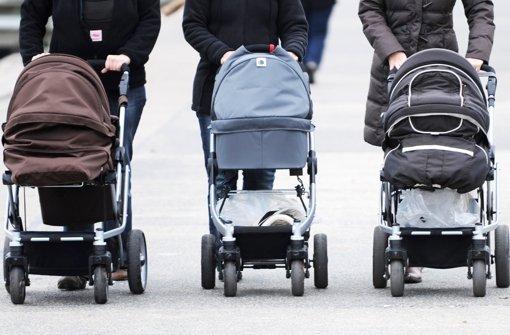 Für eine Bestandserhaltung der Bevölkerung ohne Zuwanderung wäre eine Geburtenrate von durchschnittlich 2,1 Kindern je Frau erforderlich Foto: dpa