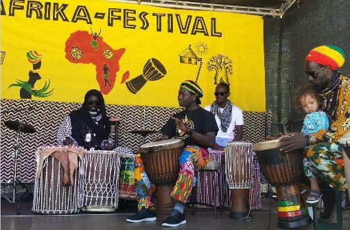 Bei den Trommelworkshops gaben die Profis den Rhythmus an. Foto: Marta Popowska