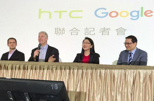 Google macht sich mit HTC schlau