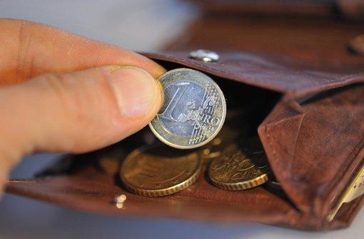 Bargeld ist das Zahlungsmittel Nummer eins in Deutschland Foto: dpa
