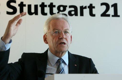 Bahn-Chef Rüdiger Grube nimmt zu 134 Fragen des Aufsichtsrats Stellung. Wie es derzeit am Stuttgarter Hauptbahnhof ausschaut, sehen Sie in unserer Fotostrecke. Foto: dpa