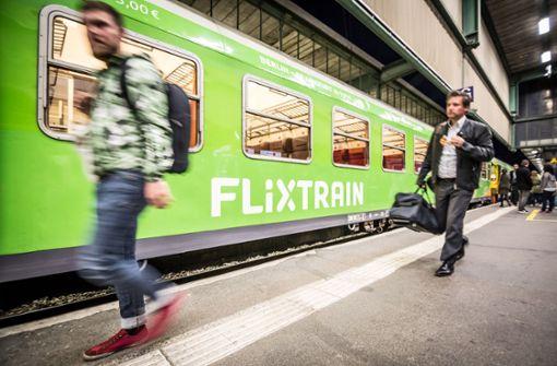 Der Flixtrain soll weitere Marktanteile erobern. Foto: Lichtgut/Julian Rettig