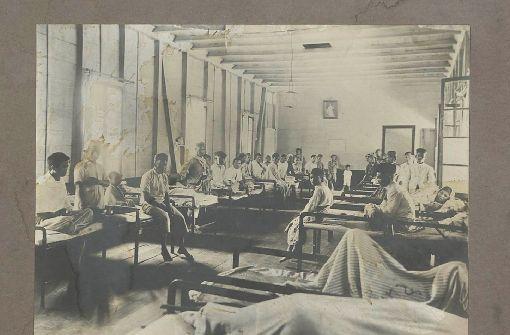 So sah früher eine Krankenstation in den Tropen aus. Foto: Archiv  der Landeskirche