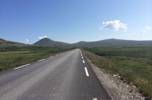 Woche 2: Traumhaftes Wetter in Norwegen. Der Weg der vor Kühne liegt ist noch lang. Foto: Stephan Kühne
