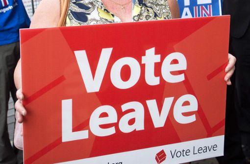 Gefährliches Taumeln in Richtung Brexit