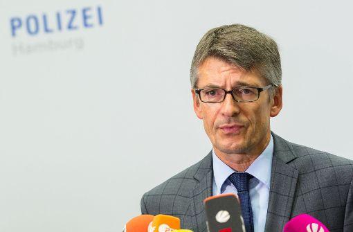 Hamburger Polizeipräsident räumt Fehler ein