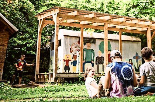 Im Garten des Abi West hätte es noch Platz für weitere Spielgeräte. Foto: Archiv