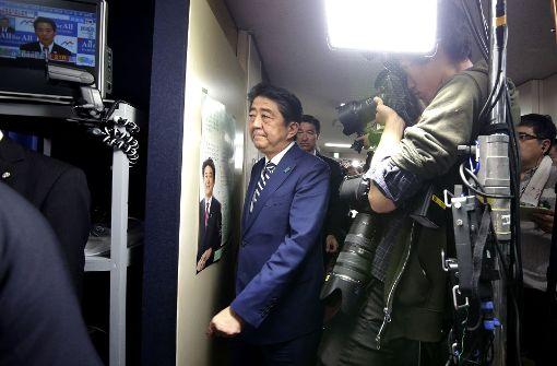 Abe hat Glück gehabt
